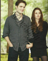 Edward Cullen and Bella Swan Breaking dawn part 2  - robert-pattinson photo