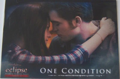 Edward and Bella Eclipse trading card