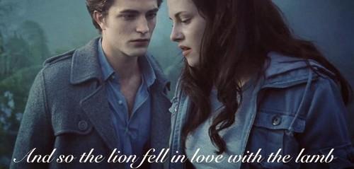 Edward and Bella,Twilight