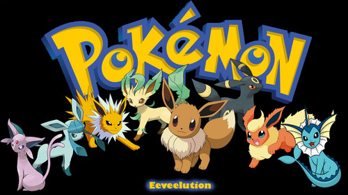 Pokémon achtergrond with anime titled Eeveelution