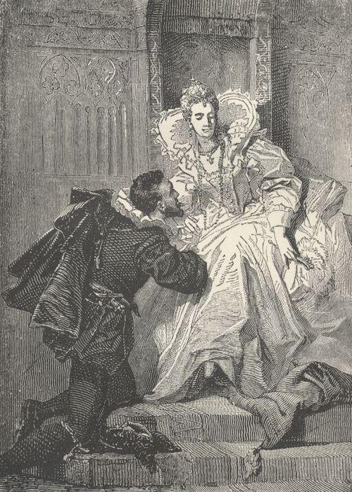 Elizabeth I & sir Robert Dudley