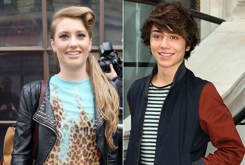 Ella Henderson and George Shelley