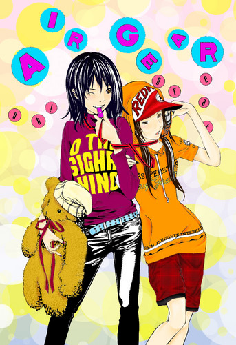 Air Gear Hintergrund containing Anime called Emily & Nakayama