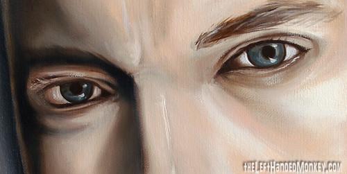 Eminem Oil Painting 18x24