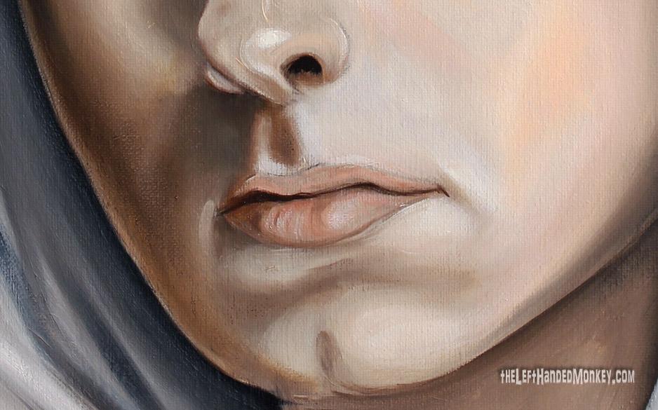 Eminem Oil Painting