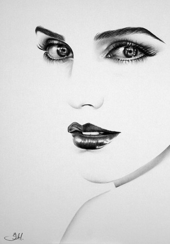 Emma Watson artwork kwa Ileana Hunter