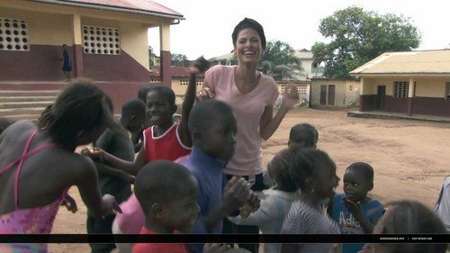 Eva Mendes Bringing Girl Power to Sierra Leone