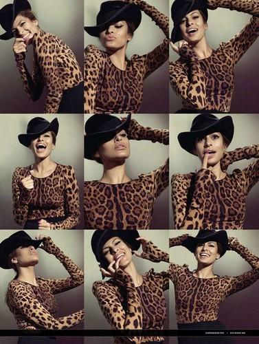 Eva Mendes : Glamour Russia 2010