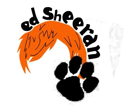 Ed Sheeran achtergrond entitled fan art