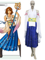 Final Fantasy X-0 Yuna Cosplay Costume