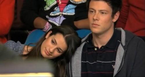 Finn and Rachel