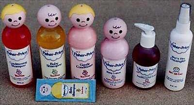 Fisher-Price baby bath stuff