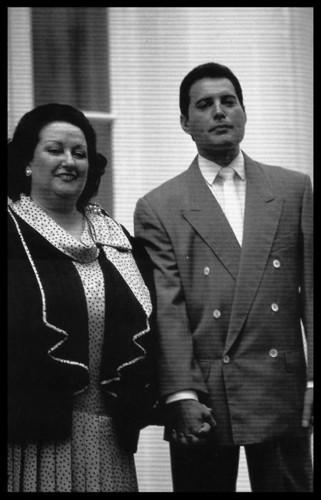 Freddie and Montserrat Caballe