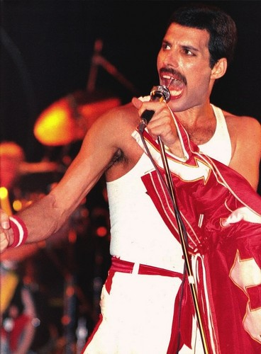 Freddie Mercury wallpaper titled Freddie on stage