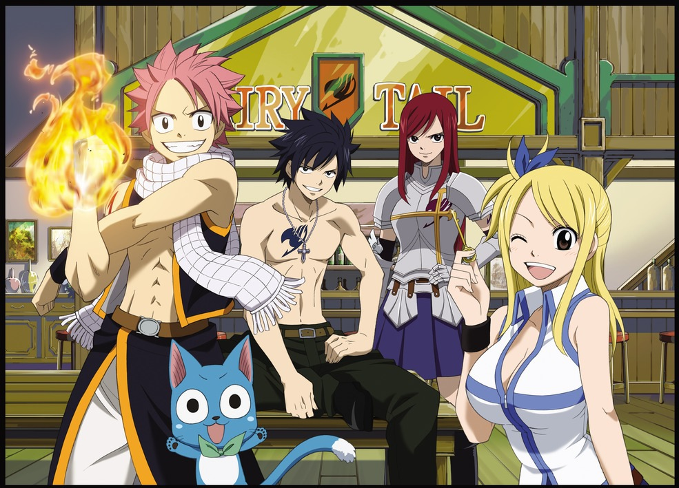 Friendly Fairy Tail Wizards Friends !!!!