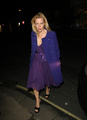 Gillian Anderson: vink, finch and Joplin avondeten, diner Londres