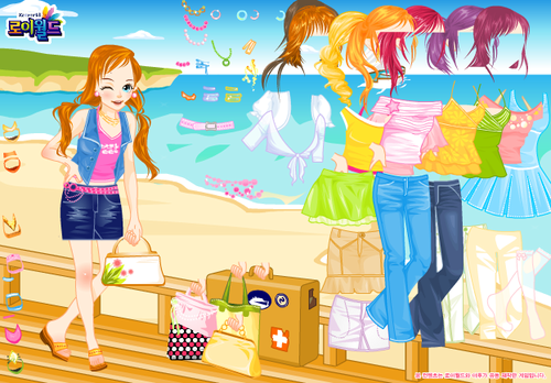 Dress Up A Girl Game