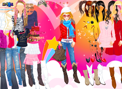 Go girl dressup games