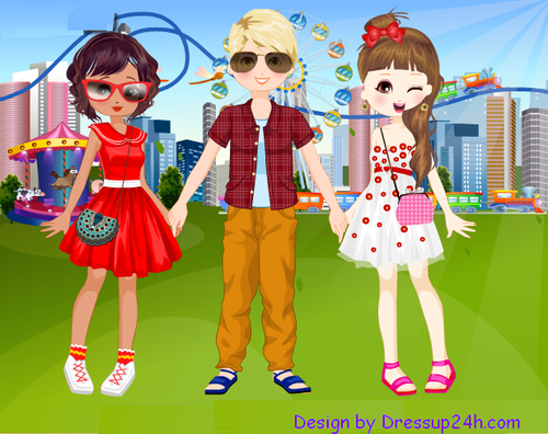 dress up games girls boys