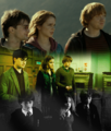 Golden Trio - harry-ron-and-hermione fan art