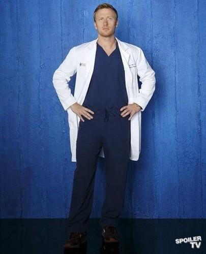 Grey's Anatomy - Season 9 - Cast Promotional चित्र