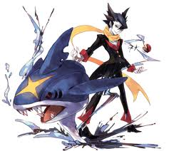 Grimsley and Sharpedo