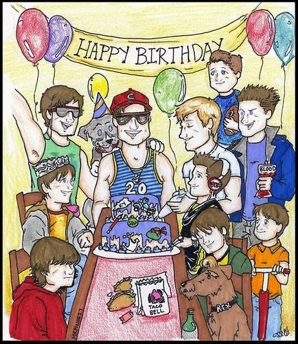 Happy 20th Birthday Josh!