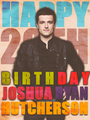Happy Birthday, Josh!