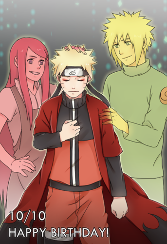 Naruto Shippuuden Hintergrund with Anime entitled Happy Birthday...
