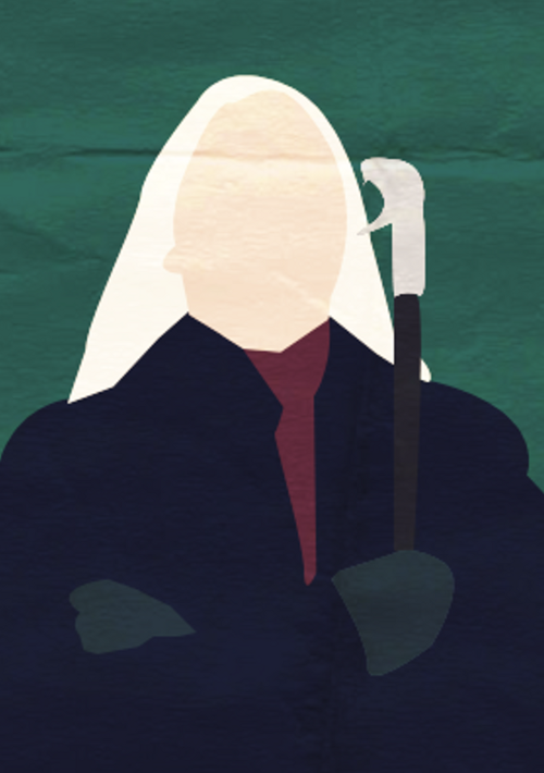 Harry Potter I Minimalist Poster - Lucius