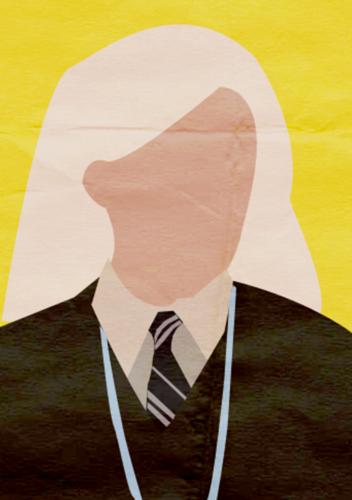 Harry Potter I Minimalist Poster - Luna