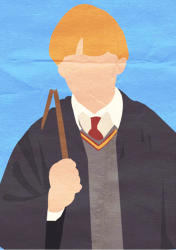 Harry Potter I Minimalist Poster - Ron
