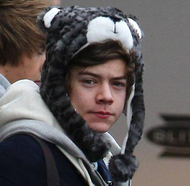 Harry Styles Snow Leopard Hat RARE