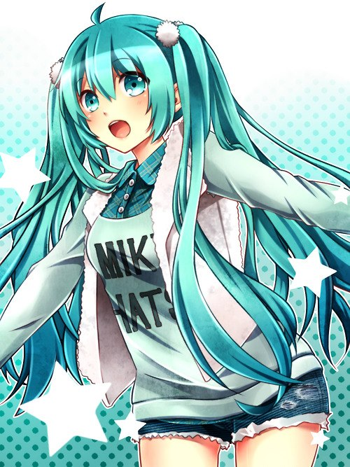 vocaloid cute miku anime - photo #5
