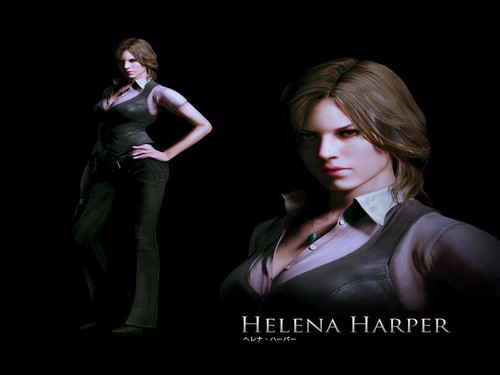 Resident Evil wallpaper containing a business suit and a concert titled Helena Harper