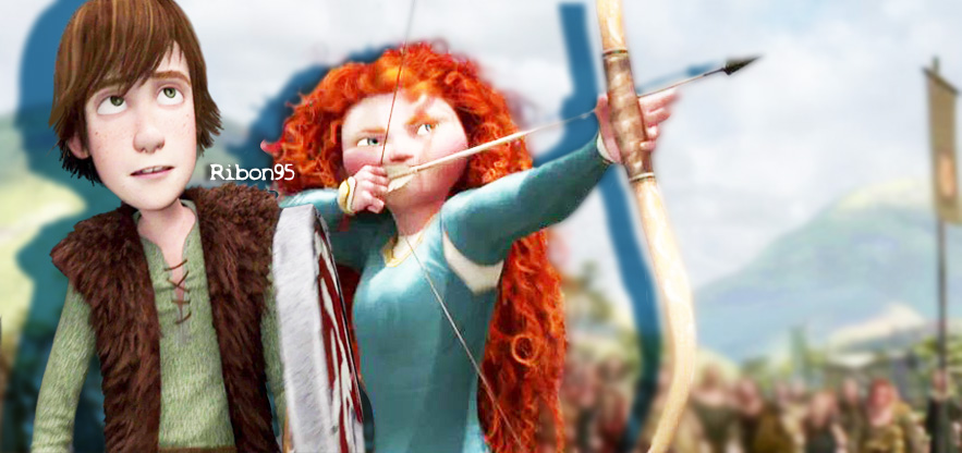 Merida X Hiccup Images Hiccup Merida Wallpaper And