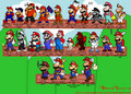 History of Mario - super-mario-bros photo