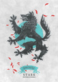 House Stark - a-song-of-ice-and-fire fan art