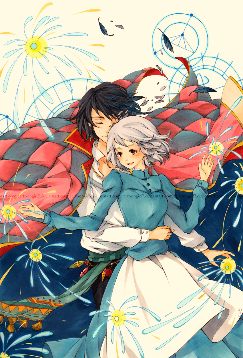 Howl and Sophie - Howl and Sophie Fan Art (32478269) - Fanpop