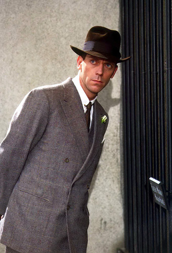 Hugh Laurie, as Bertie Wooster; Jeeves and Wooster, 1990-1993.