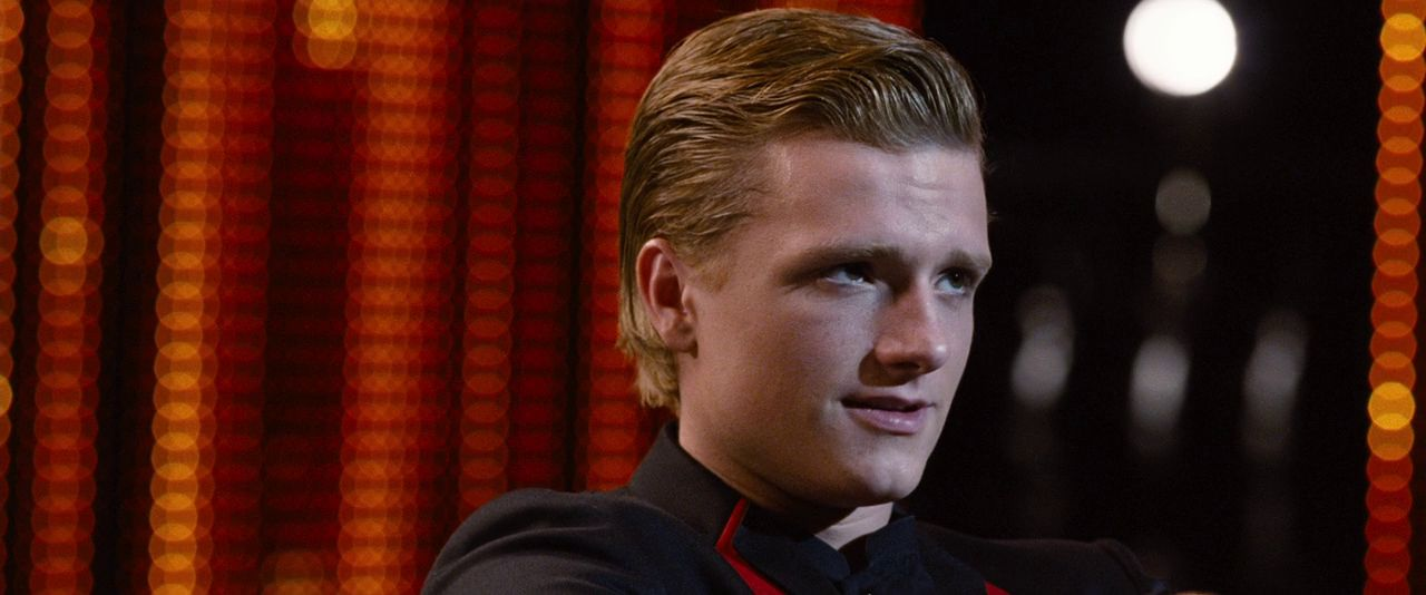 Hunger Games screencaptures [HQ] - Peeta Mellark Photo ...