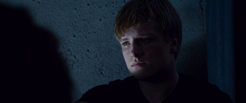 Peeta Mellark Hintergrund titled Hunger Games screencaptures [HQ]