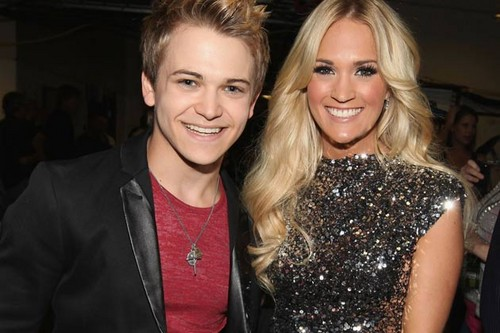 Hunter Hayes & Carrie Underwood @ 2012 CMT Awards