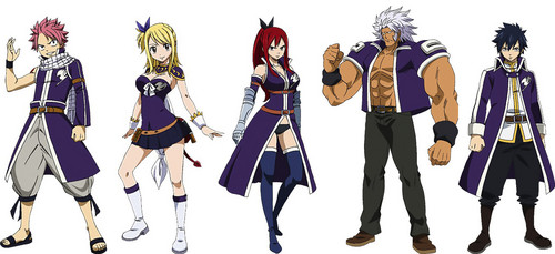Fairy Tail wallpaper possibly containing regimentals and a full dress uniform entitled I can't wait for GMG  :)
