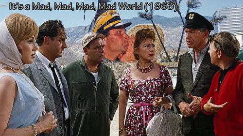 Classic Movies wallpaper called It's a Mad, Mad, Mad, Mad World 1963