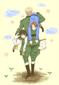 Italy, Germany, and Japan - hetalia photo