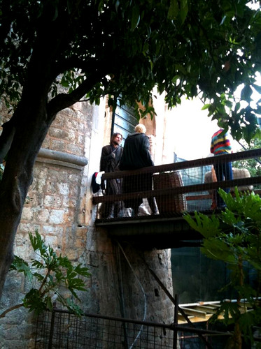 Jaime Lannister and Brienne of Tarth - Filming Game of Thrones S3 - game-of-thrones Photo