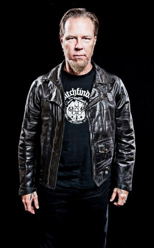 James Hetfield wallpaper possibly containing an outerwear, a bomber jacket, and a well dressed person called James
