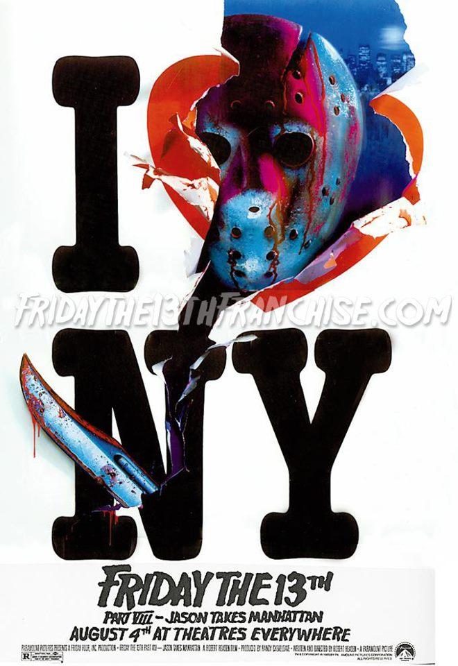 Jason Takes Manhattan Original Poster