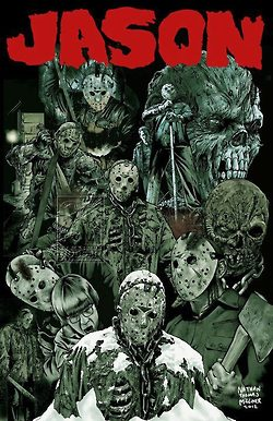 Jason Voorhees wallpaper with anime titled Jason Voorhees Tribute